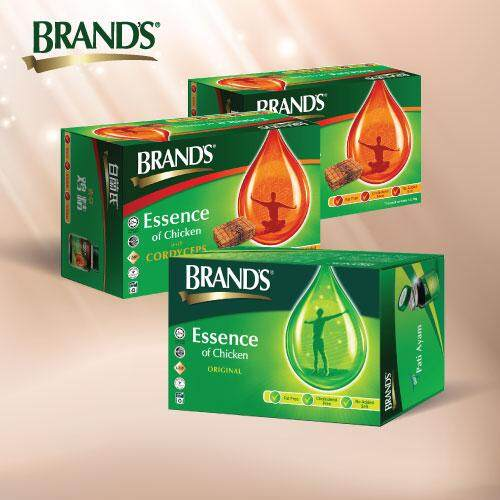 Brand's Essence Of Chicken With Cordyceps (6x70g) x2 + Brand's Essence of Chicken (6x70g) x1