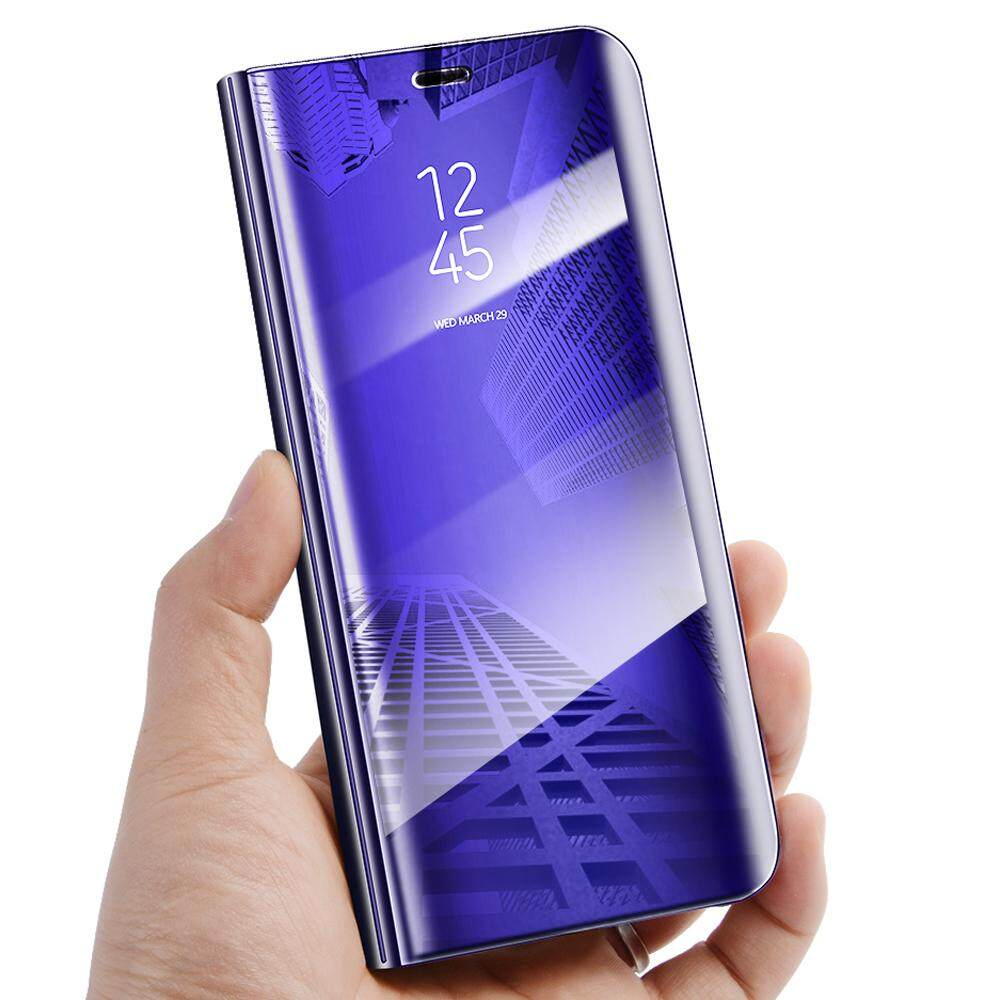 Features For Samsung Galaxy A6 Plus 2018 Flip Cover Case Luxury