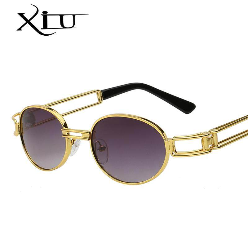 Xiu Steampunk Kacamata Hitam Bening Lensa Gotik Datar Terbaik Antik  Sepanjang Kacamata Pria Wanita Mewah Merek 2b439d50f8