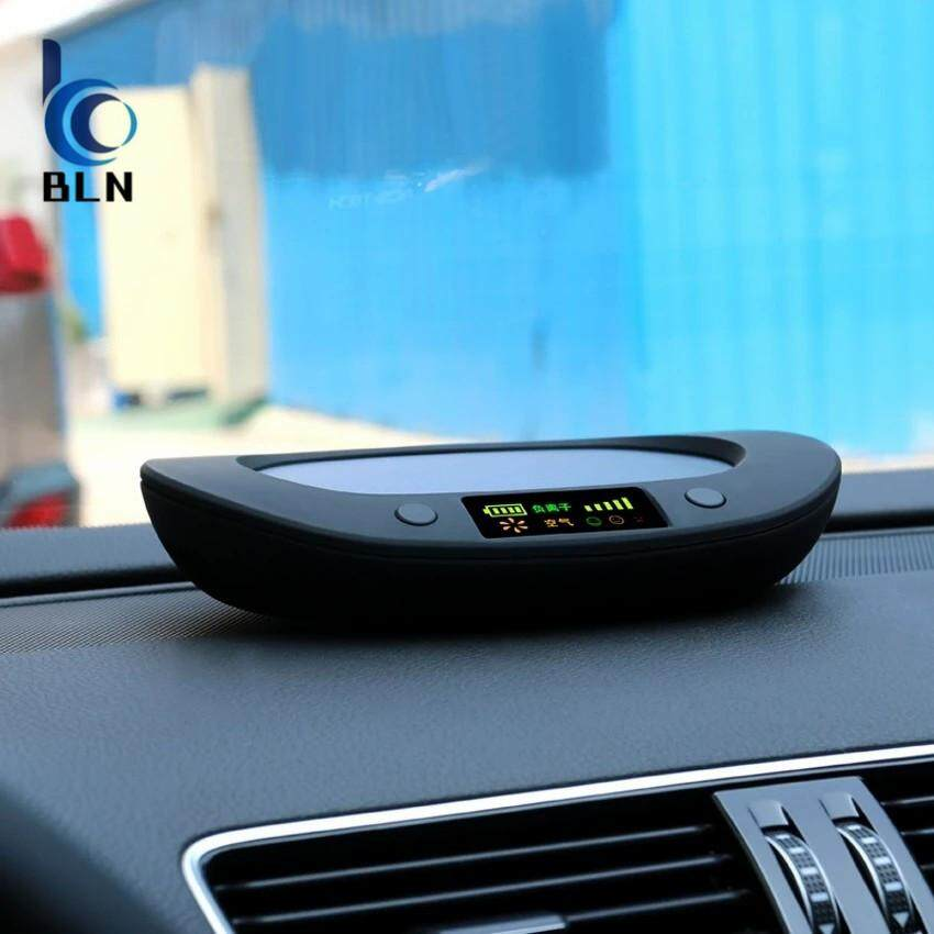 Car Solar Energy Air Purifier Oxygen Bar Aroma Air Freshener For ?