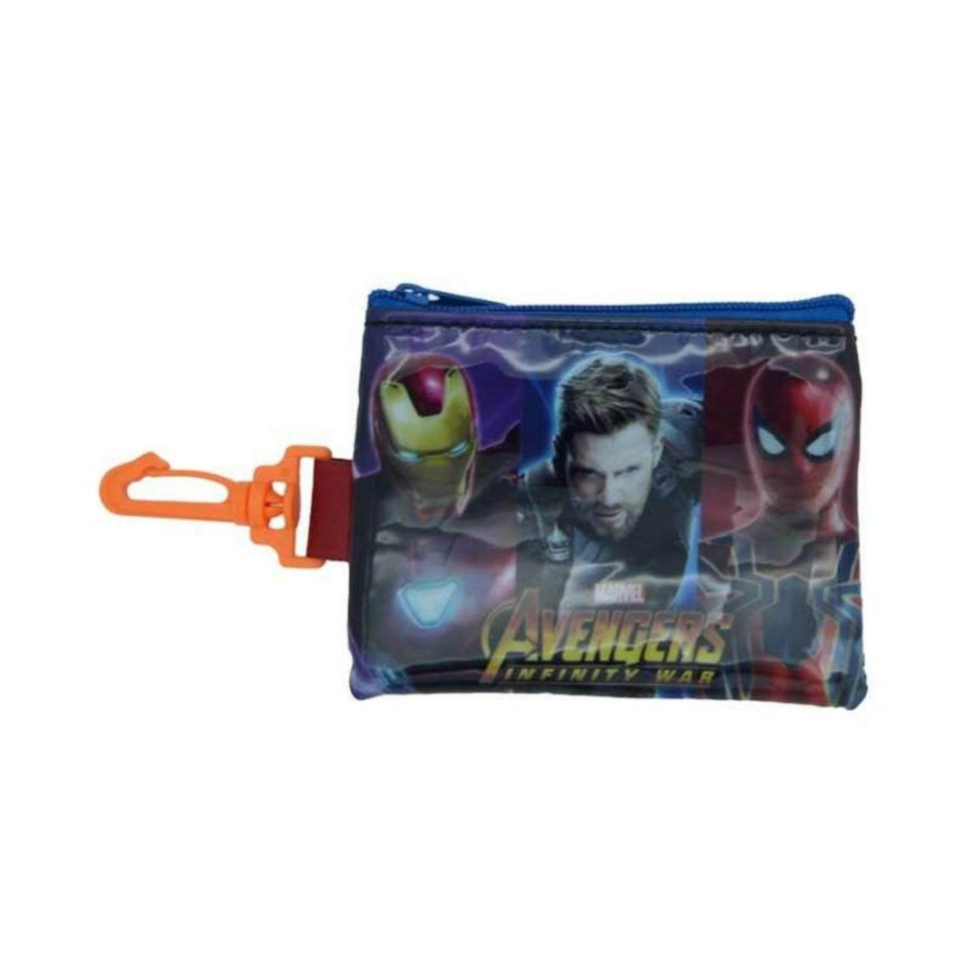 Marvel Avengers Infinity War Coin Purse With Hook - Red Colour
