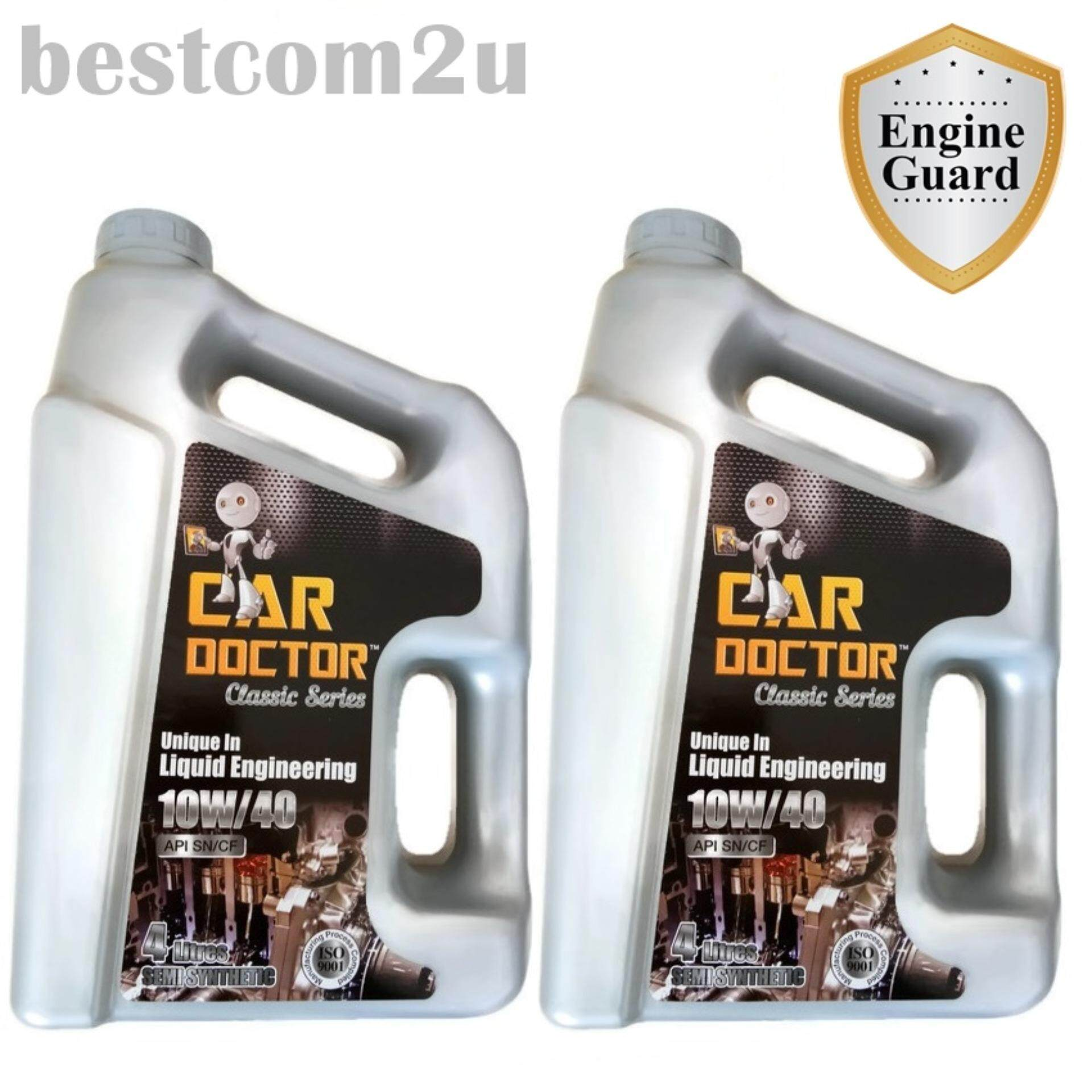 [2x] Car Doctor Classic Semi Synthetic 10W/40 API SN/CF (