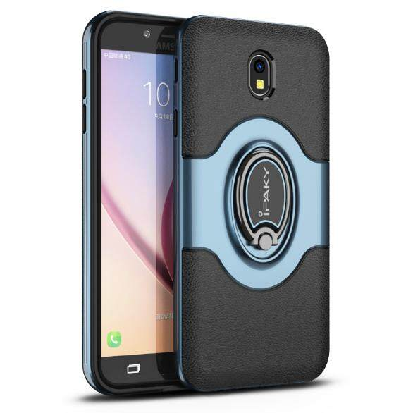For Samsung Galaxy J530 [Eurasia Edition] 2017 universal Mobile Phone Cases Creative Mobile Phone Ring Stand Protection Case New Mobile Phone Magnetic Car Carrier Stand Protection TPU - intl
