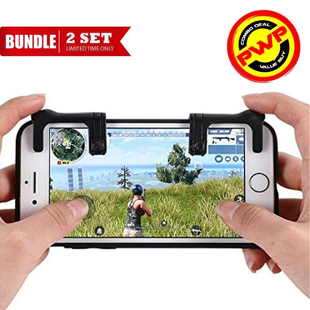 PUBG Rules of Survival Firing & Aiming Gamepad Joystick Controller Mobile Smartphone [Generation 1]