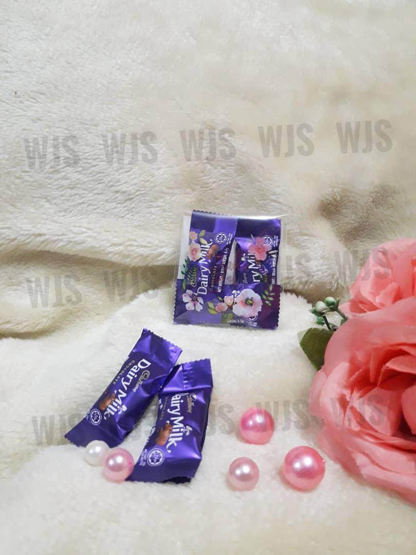 (MULTIPLE SIZES) WJS 100pcs 100 pcs Cute Lovely Flower Kuih Raya Wrapper