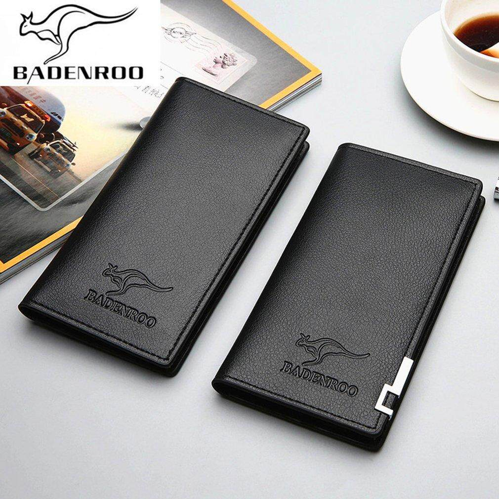 Men wallets buy men wallets at best price in malaysia lazada men purse long design business casual money bag leather wallet gift for men reheart Images