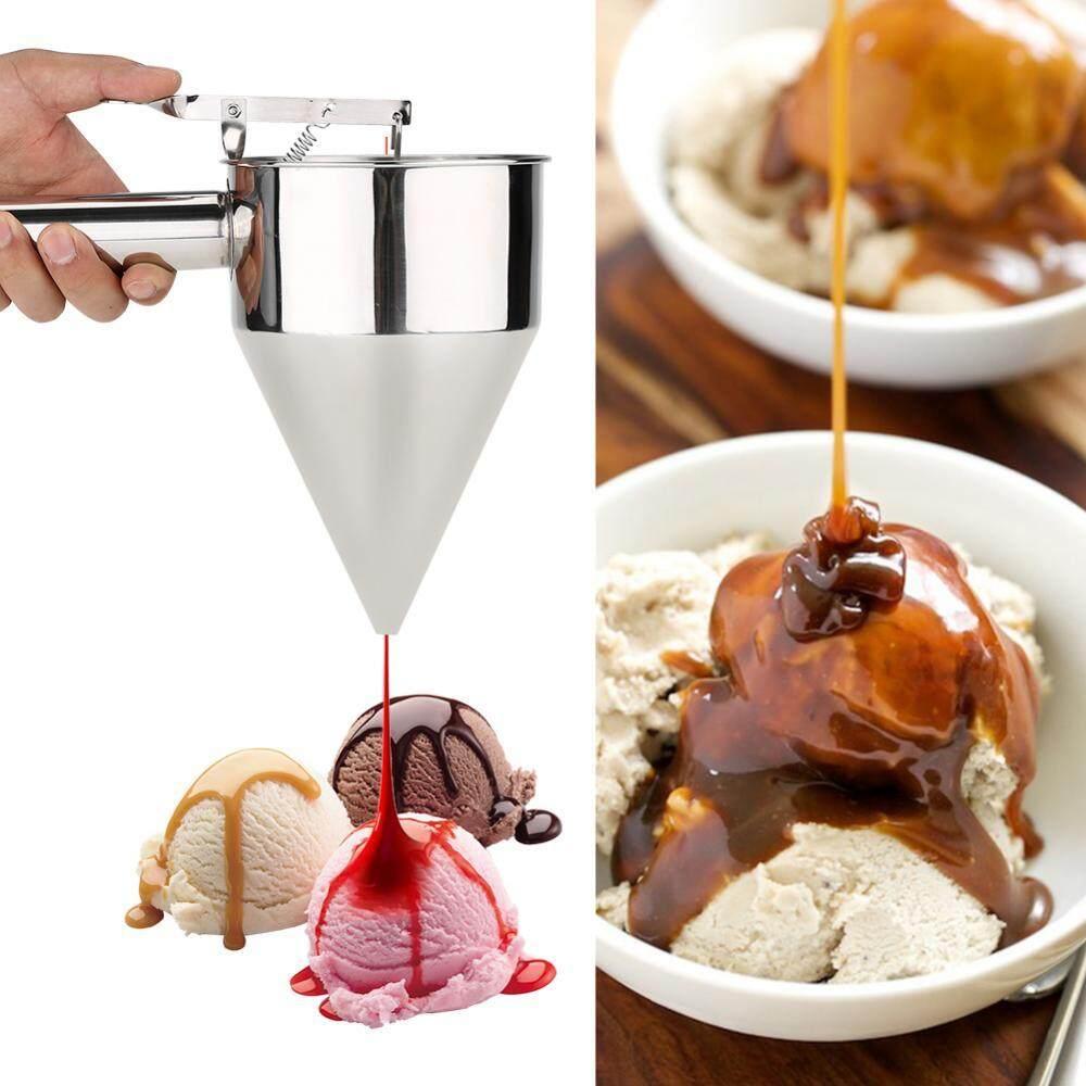 Anti Karat Panggang Corong Kue Desserts Alat Memasak dengan Rak untuk Rumah Dapur Toko Roti Digunakan-Internasional
