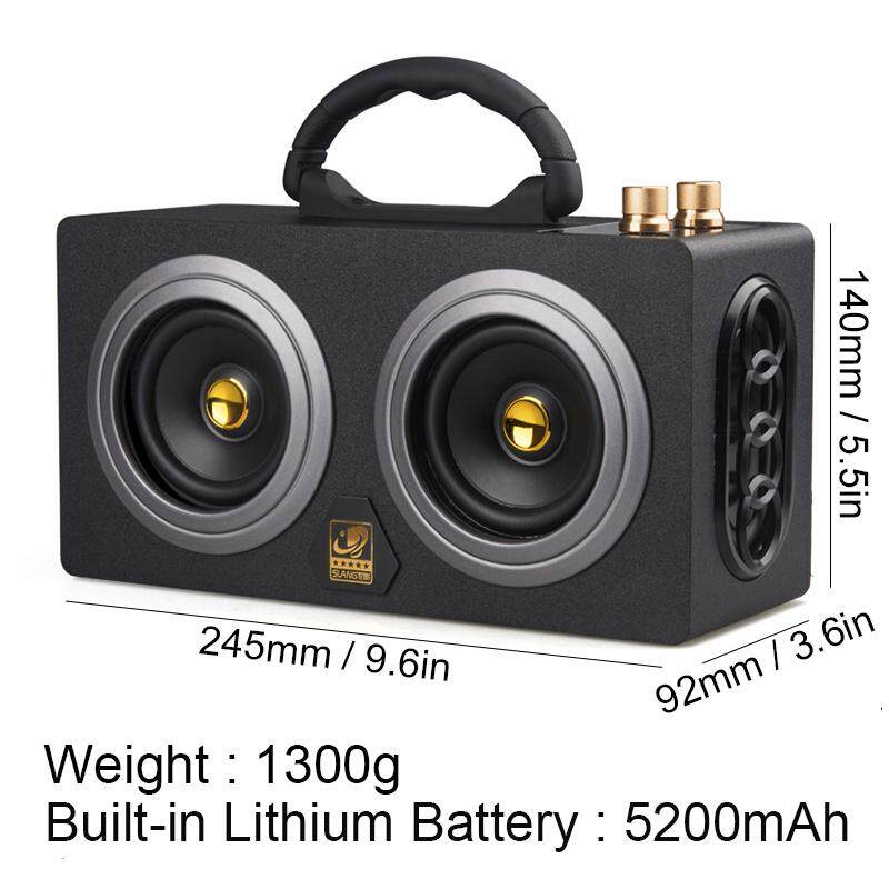 Cosonic M8 Portable Wireless Bluetooth Speaker Outdoor Stereo Super Bass Subwoofer Hip Hop Music Boombox Dancing ...