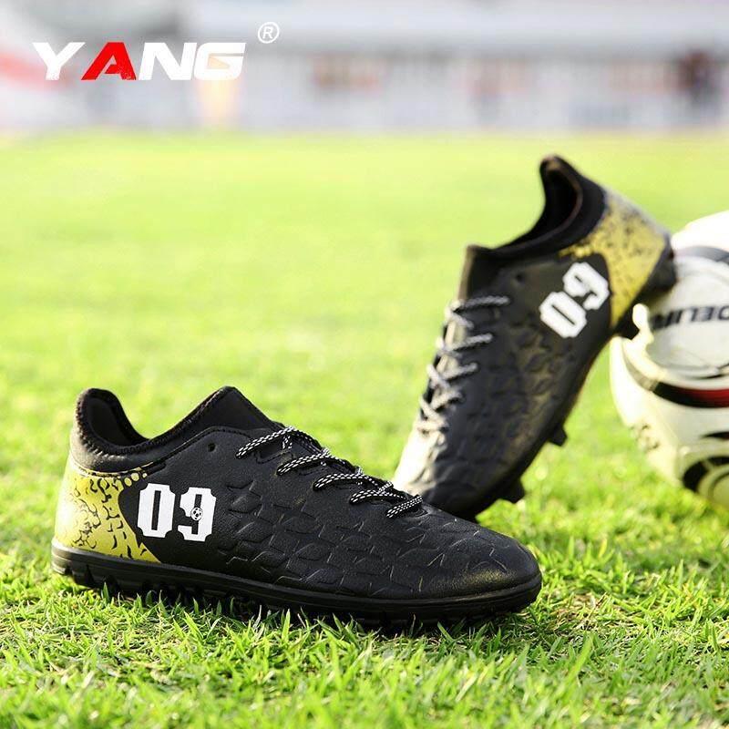 Yang 2018 Baru Pria Luar Ruangan Sepak Bola Sepatu Turf Dalam Sepak Bola Futsal Sepatu Kasut Futsal Lelaki (AG) -Internasional