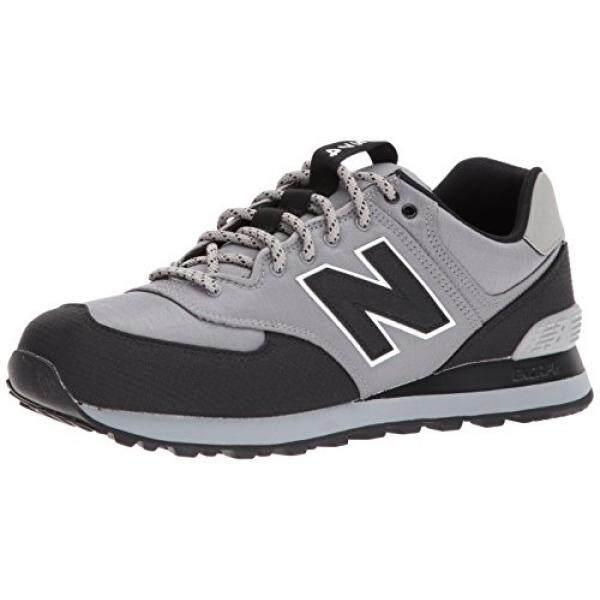 USA]New Balance Mens 574v1 Sneaker, Marblehead/Black, 12
