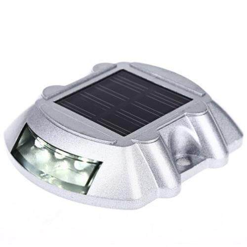LIGHT CONTROLLED 6 LEDS OUTDOOR SECURITY LIGHTS (SILVER)