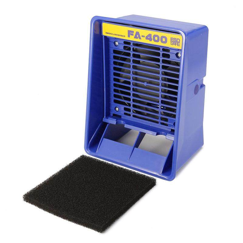 HAKKO FA-400 Soldering Iron Smoke Absorber Fume Extractor with 10 x Filters - intl Singapore
