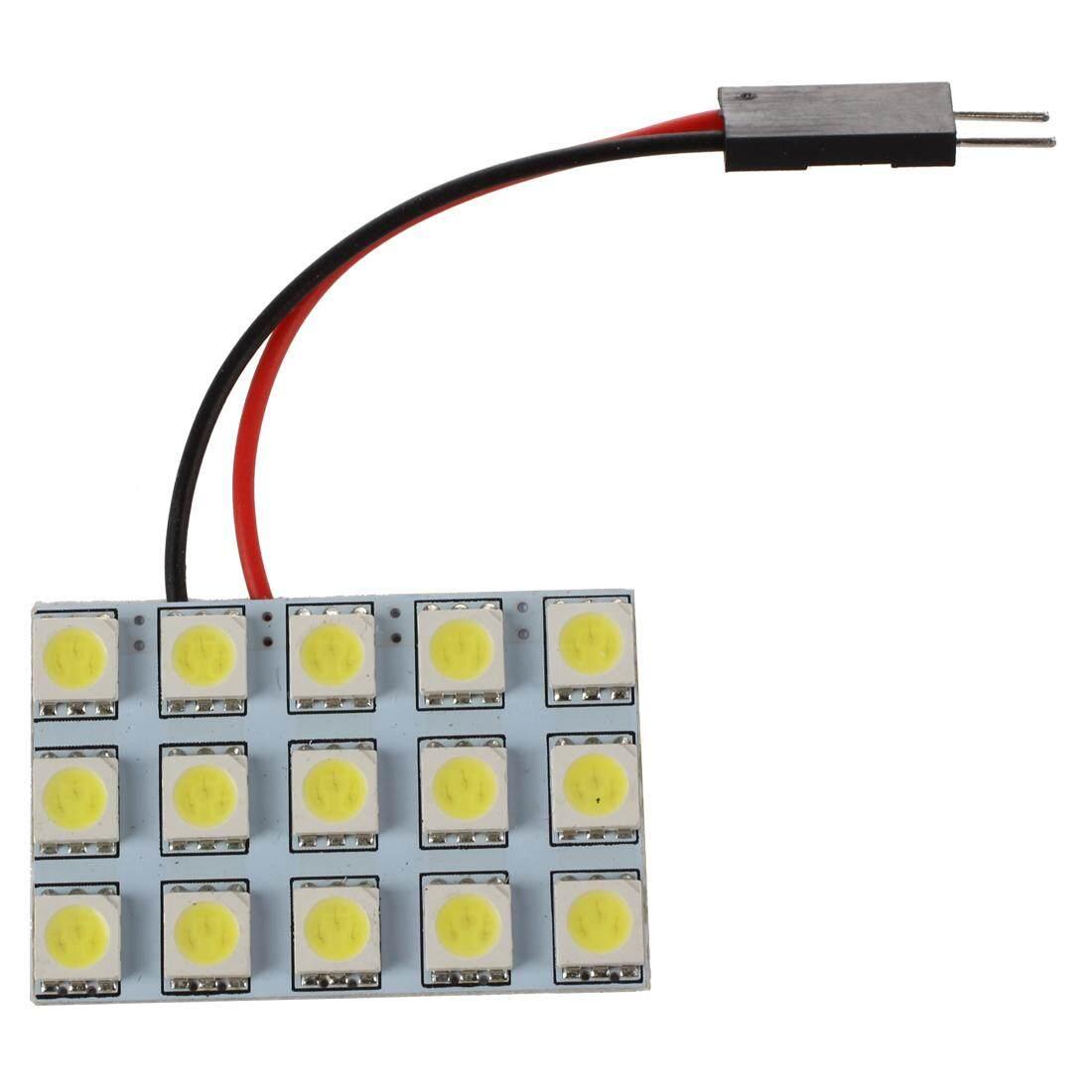 Buying 1bh Led Kabin Plafon Mobil Interior Socket Festoon T10 Ice Universal 6 2x Car Light Panel 15 Smd 5050 Ba9s Dome Bulb Adapter