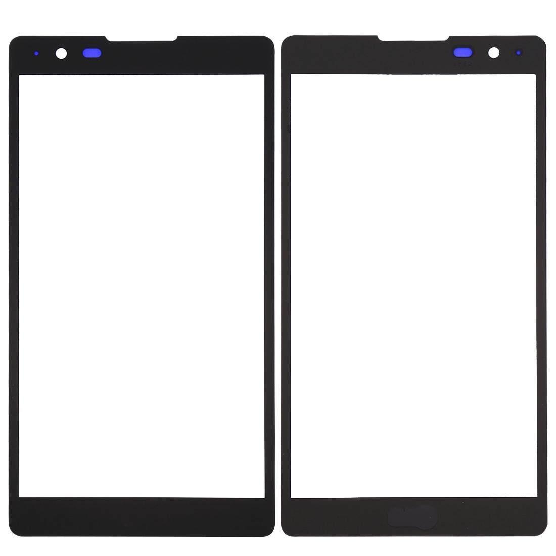 Hình ảnh iPartsBuy for LG X Power / K220 Front Screen Outer Glass Lens(Black) - intl