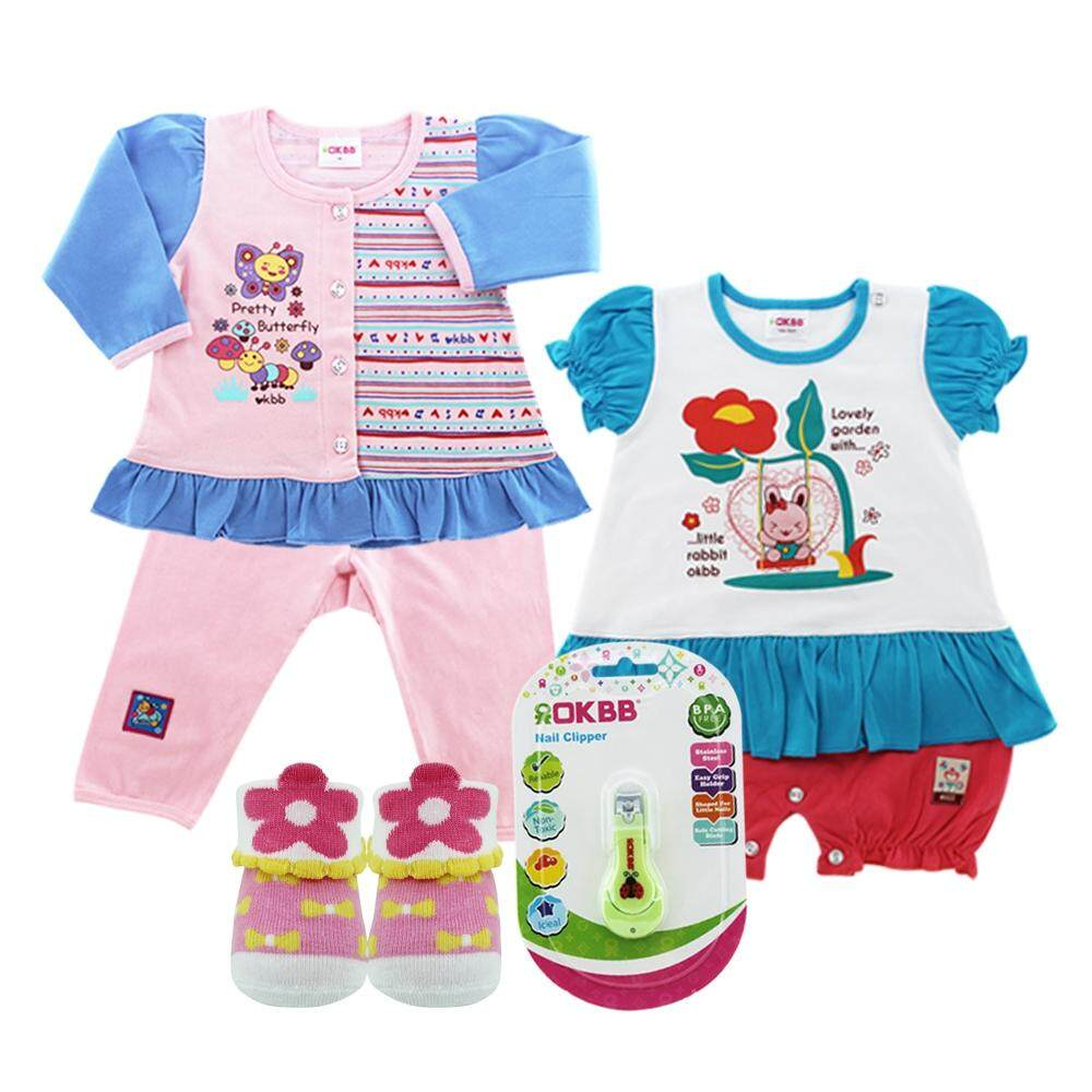 OKBB Standard Value Pack For Baby Girl MS18S3A8A13