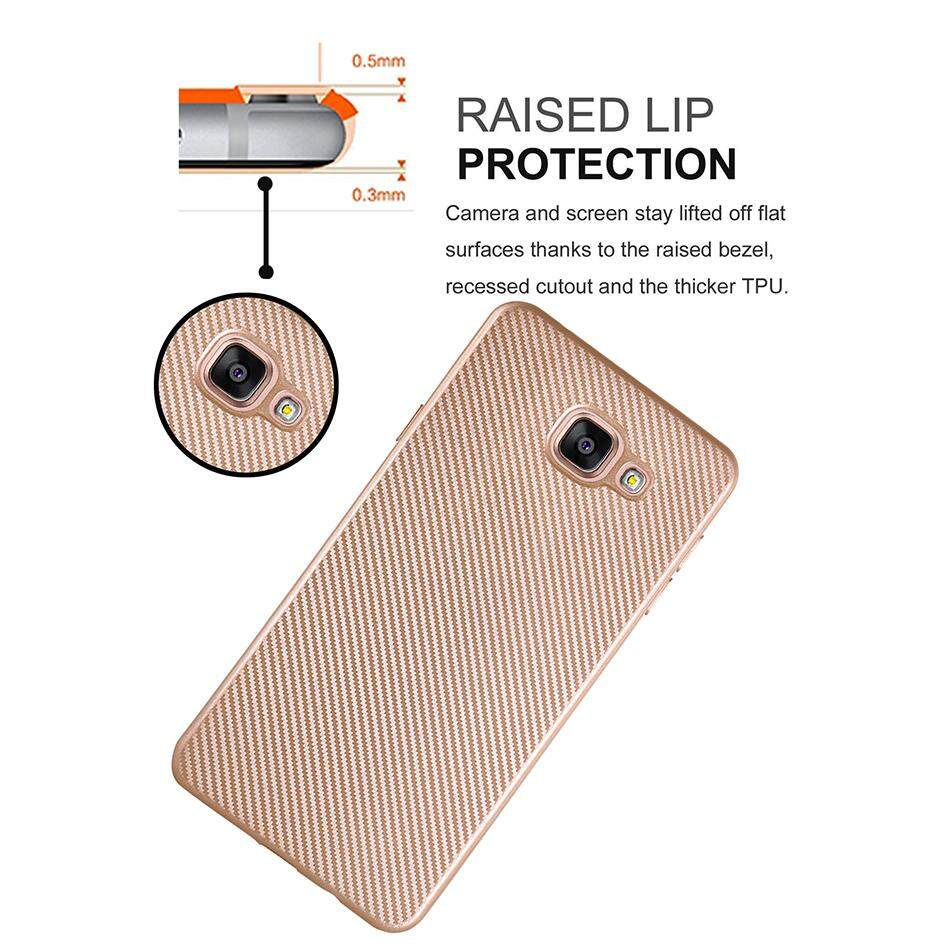AKABEILA Carbon Fibre TPU Phone Cases For Samsung Galaxy A3 2016 A310F A310F .