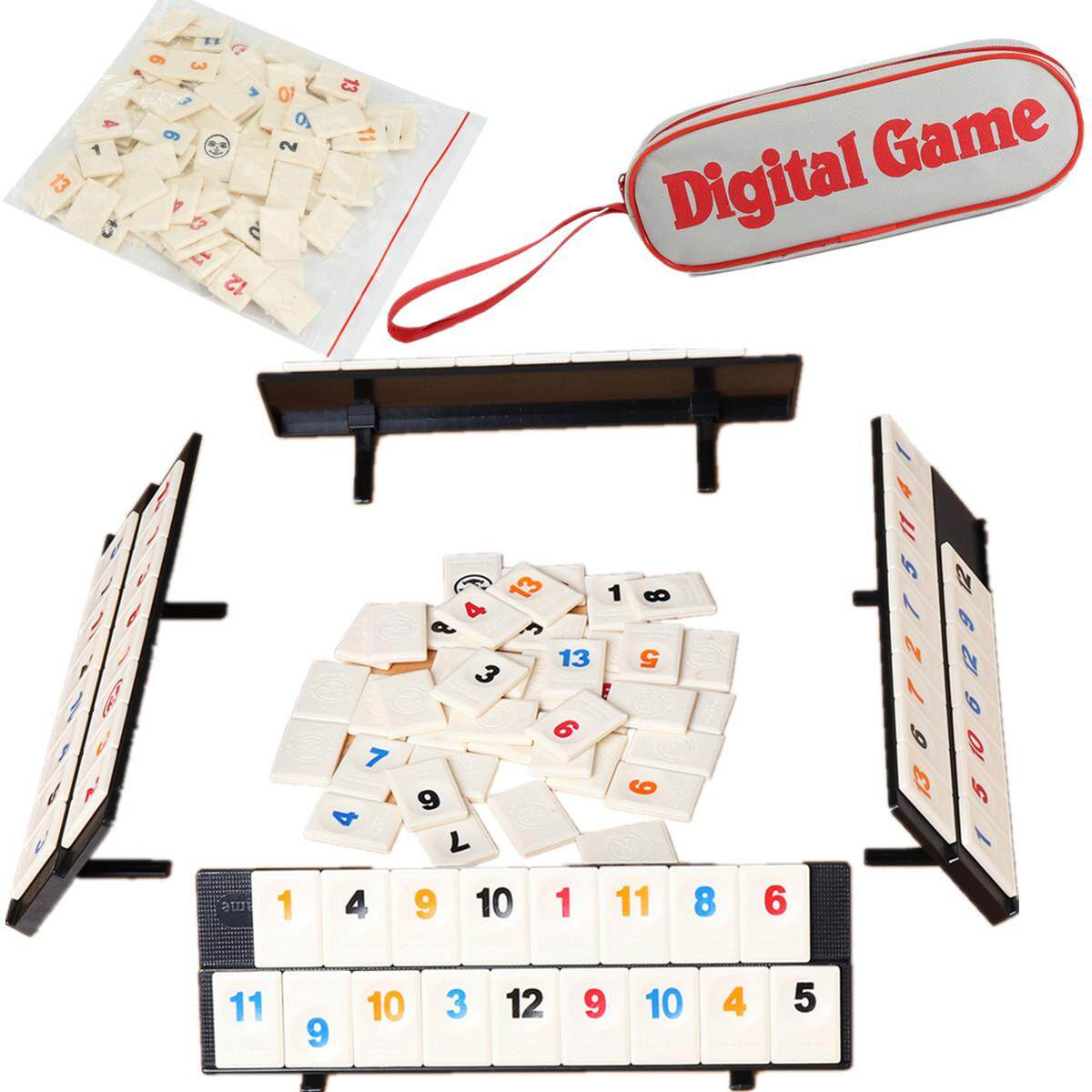 Sale Portable Digital Board Game Israel Mahjong Rummikub Family Travel New Intl Not Specified On China