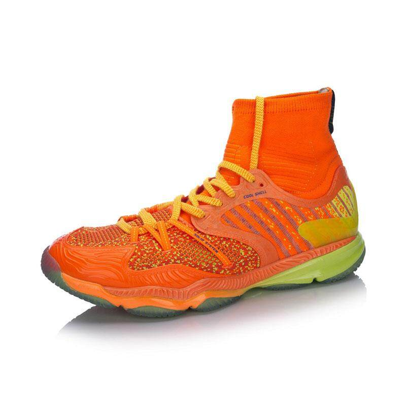 Li-Ning Men's Professional Badminton Shoes - Orange AYAM009-4