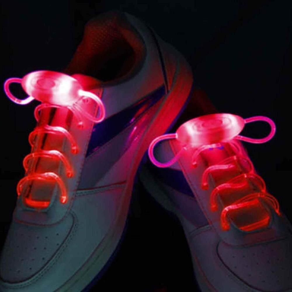 Colorful LED Shoelaces Shoe Laces Flash Light Up Glow Stick Strap Shoelaces