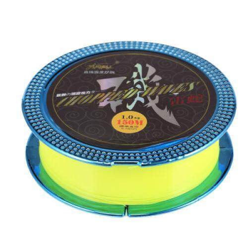 Yudeli 150m Fishing Line Wear-resisting Wire (GREEN YELLOW)