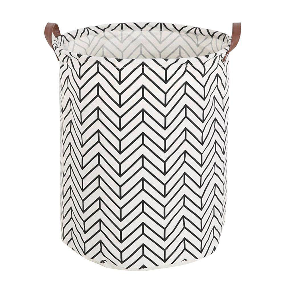 robxug Large Storage Bin, Cotton/Canvas Storage Basket With Handles for Nursery or Kids Room- Toy Box/ Toy Storage/ Toy Organizer for Boys and Girls - Laundry Basket/ Nursery Hamper - intl