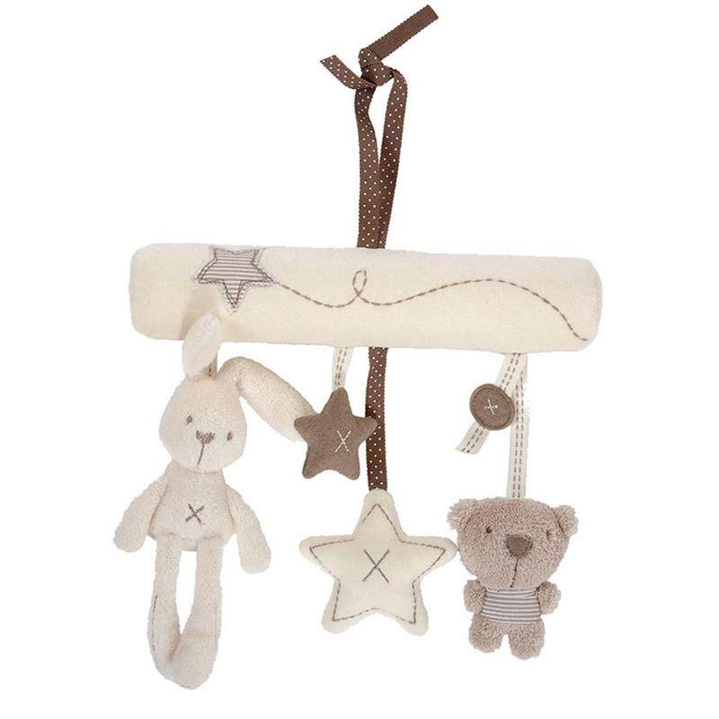 Bunny Baby Music Car Hanging Round Bed Safety Seat Pendant Plush Toy By Glimmer.