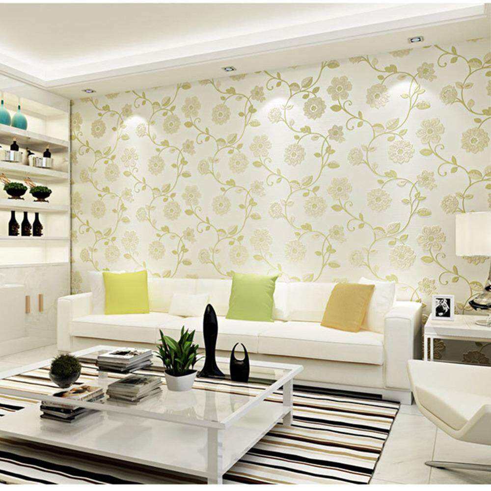 Modern Non Woven Wallpapers Sweet And Lovely Moon Pattern Living Room  Bedroom Living Room Kitchen