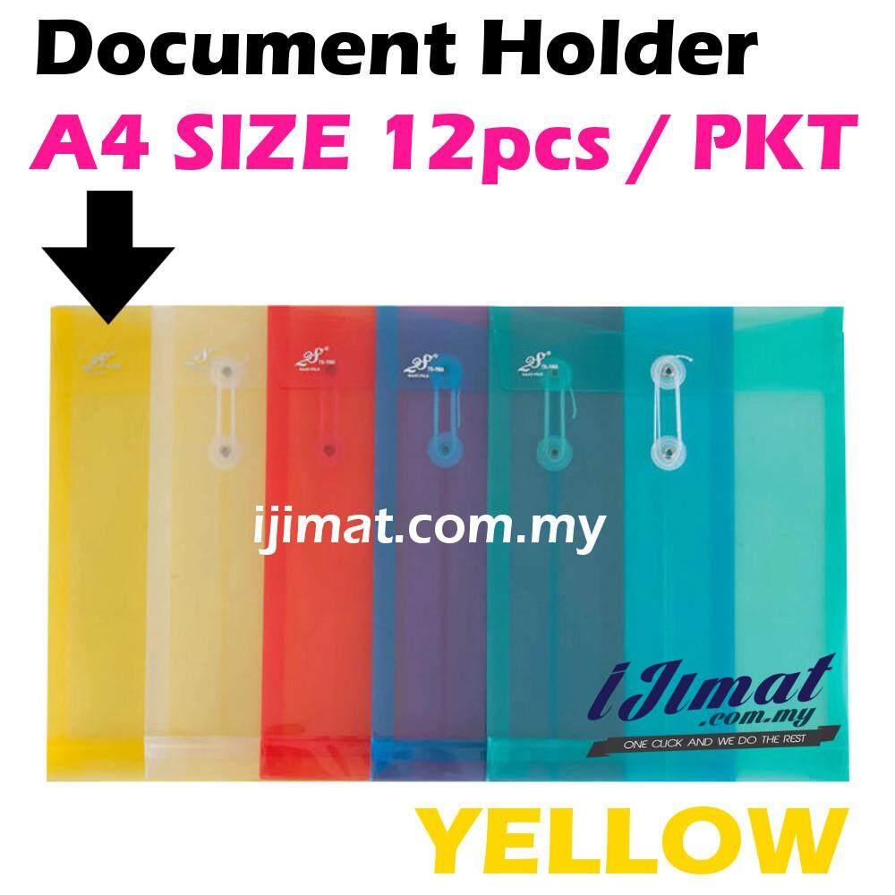 I JIMAT East-File TS-118A TS118A 118A Envelope File Colour Document Holder 12pcs/pack (YELLOW) Color