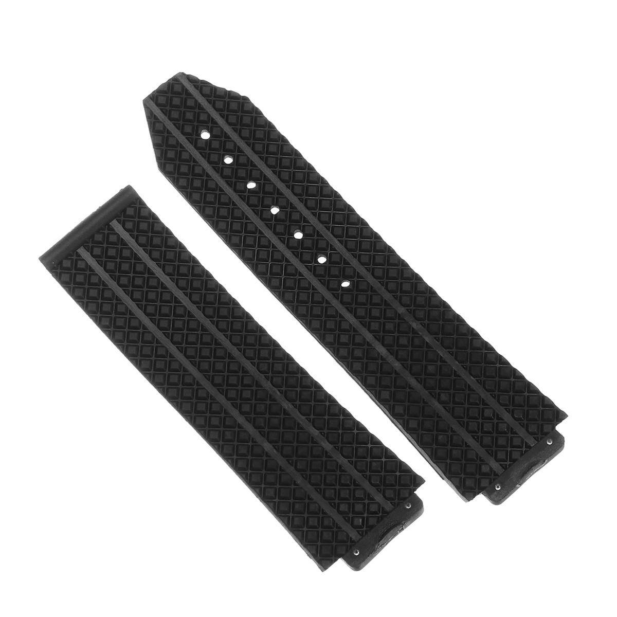 24MM RUBBER BAND STRAP FOR HUBLOT 44-45 H BIG BANG + CLASP MULTI COLOR +screw