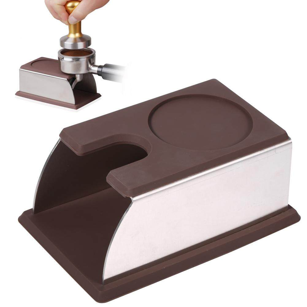 Coffee Machines Accessories Buy At Makarimshirt Coklat Susu Tamper Holder Powder Maker Stand Rack Tool Stainless Steel Silicone