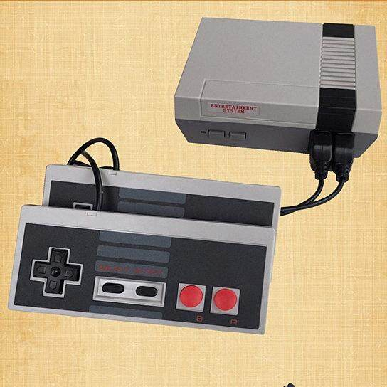 Mini Classic 620 Games Console Entertainment System w/ 2 Handle For Nintendo NES - intl