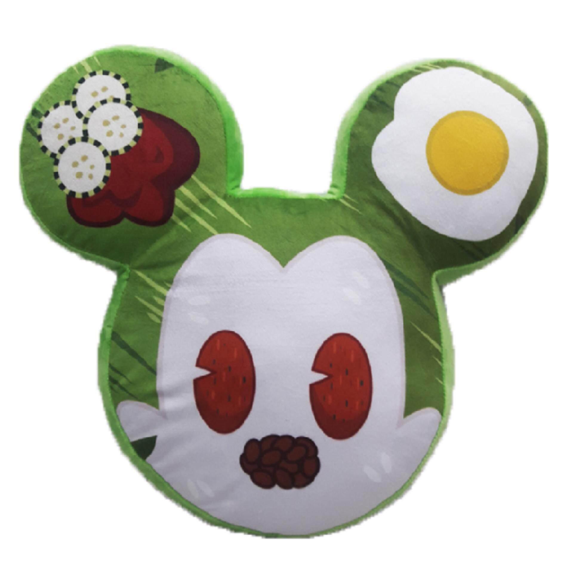 Disney Mickey Go Local Shaped Cushion - Nasi Lemak Mickey