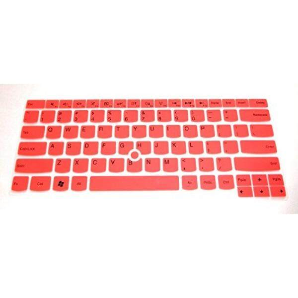 Keyboard Protector Skin Cover for Lenovo Thinkpad T460 T460p T460s E460 E645 E470 E475 L460 T470 T470s T470p L470 P40 thinkpad X1 Yoga, Yoga 460 US Layout w/ BingoBuy Case for ID Card (medium pink)