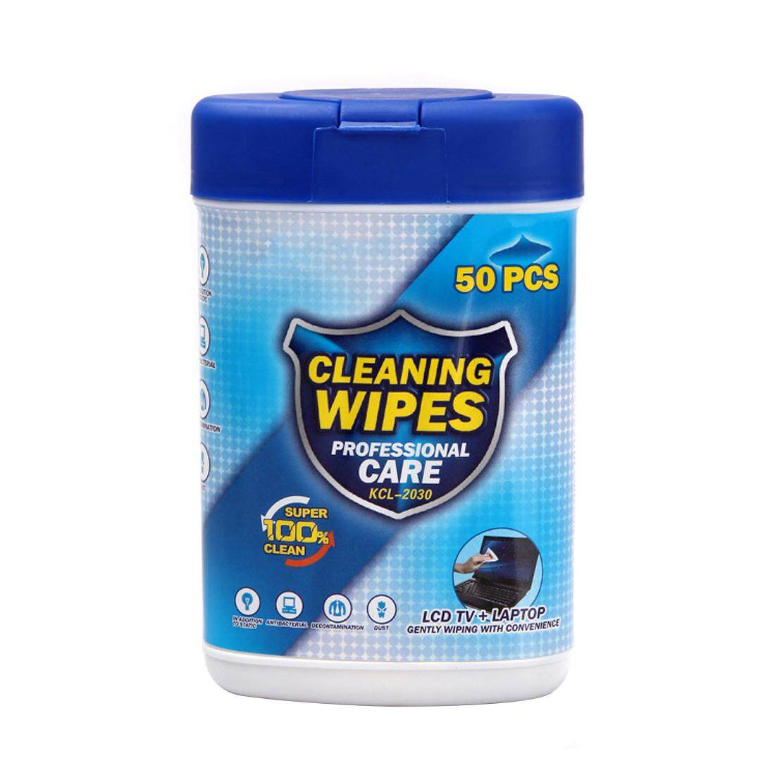 50pcs Soft Laptop Computer Monitor LCD TV Phone Screen Lens Glass Cleaning Wipes - intl