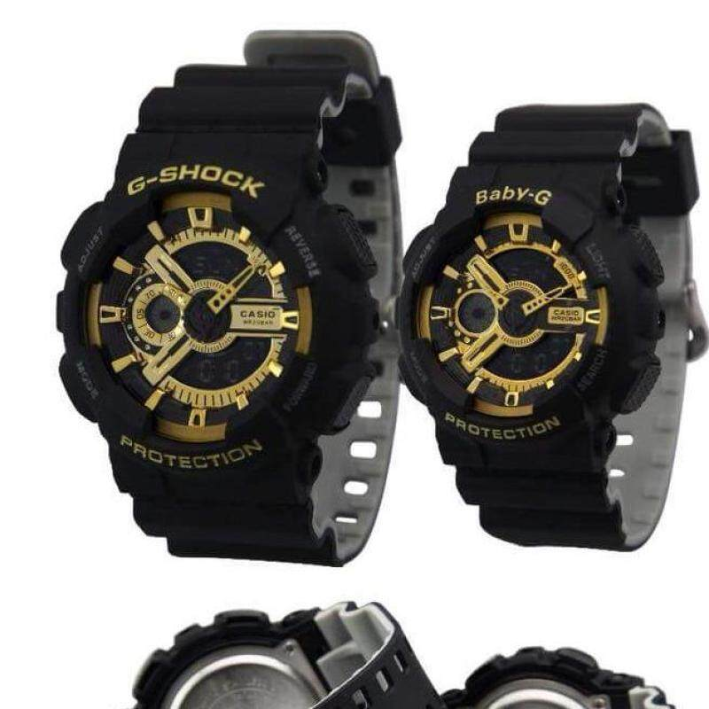 Casio GShock and BabyG Couple  Resin Strap Watches Malaysia