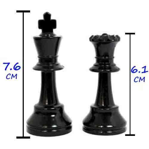 Chess 32 Pieces (King Height 7.6 cm)