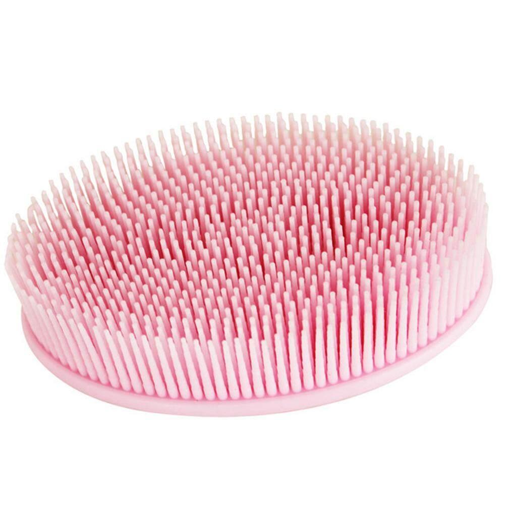Lonjong Silikon Pancuran Kuas Bayi Mandi Scrubber Badan Pijat Rambut Pembersih Brushes Lucky-G-Internasional