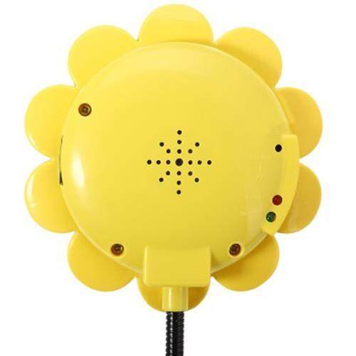 SUNFLOWER WIRELESS BABY SECURITY MONITOR WITH CAMERA VIDEO TWO - WAY AUDIO NIGHT VISION (GREEN)