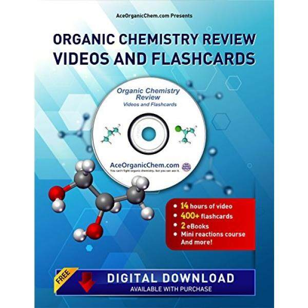 Condensed Organic Chemistry Help DVD with Digital Download option- Organic Chemistry Study DVD with Complete Course Review Videos - by AceOrganicChem - intl