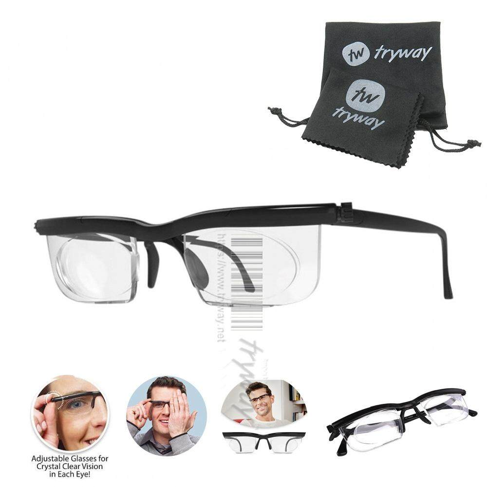 a1e90114b1e New Adjustable Dial EyeGlasses HD Vision Reader Glasses Variable Focus Glass  For Distance Or Reading glasses