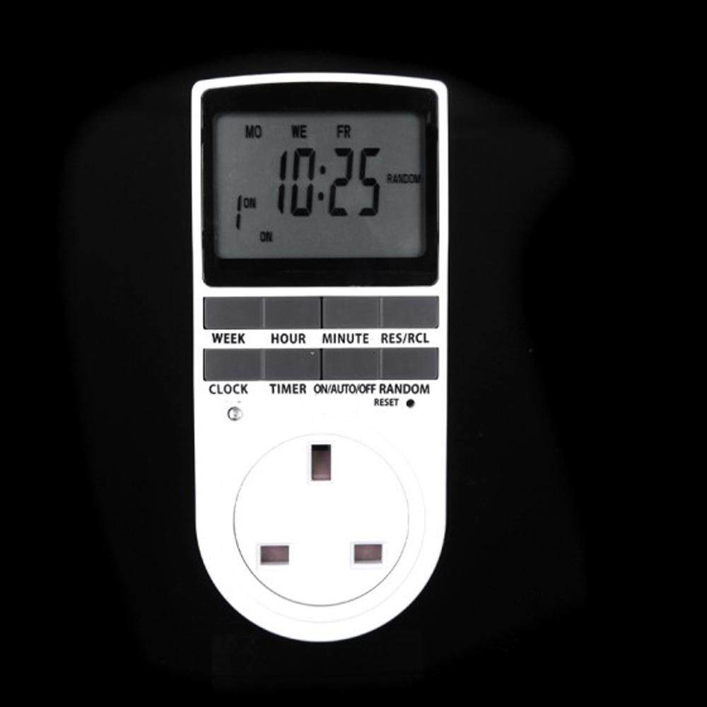 Sale Digital Electronic Plug In Programmable 12 24 Hour Timer Switch Socket 7Day Intl China Cheap