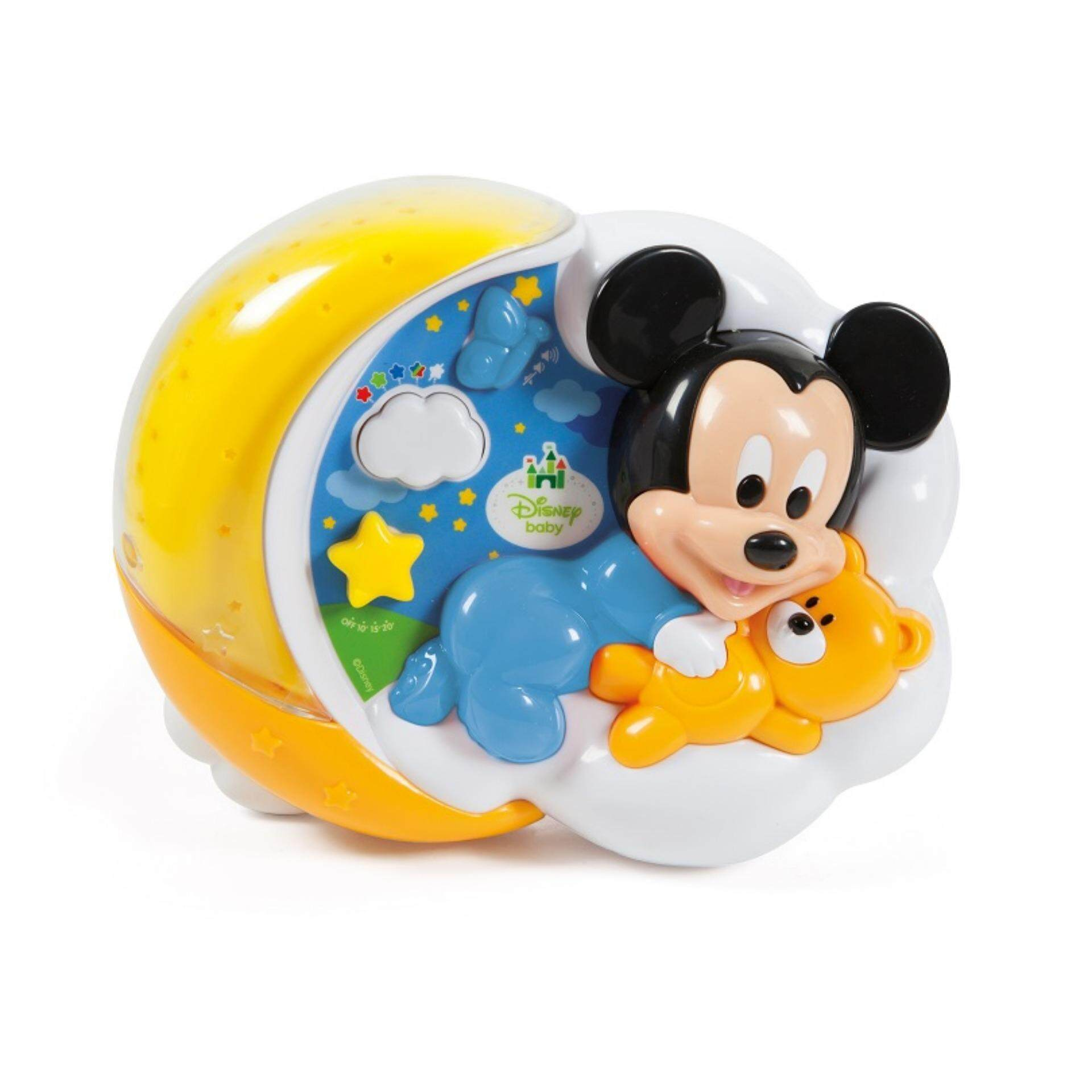 Disney Baby Developmental Magical Stars Figural Projector Musical Toys - Mickey toys education