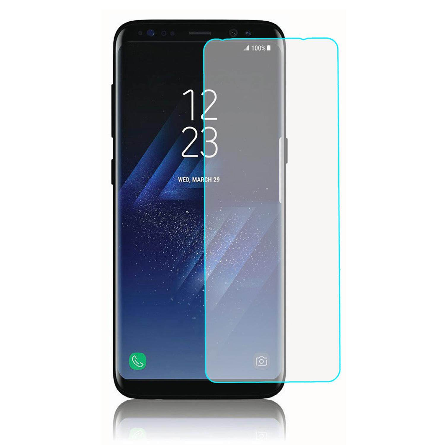 Features Samsung Galaxy S8 Plus Half Cover Tempered Glass Original