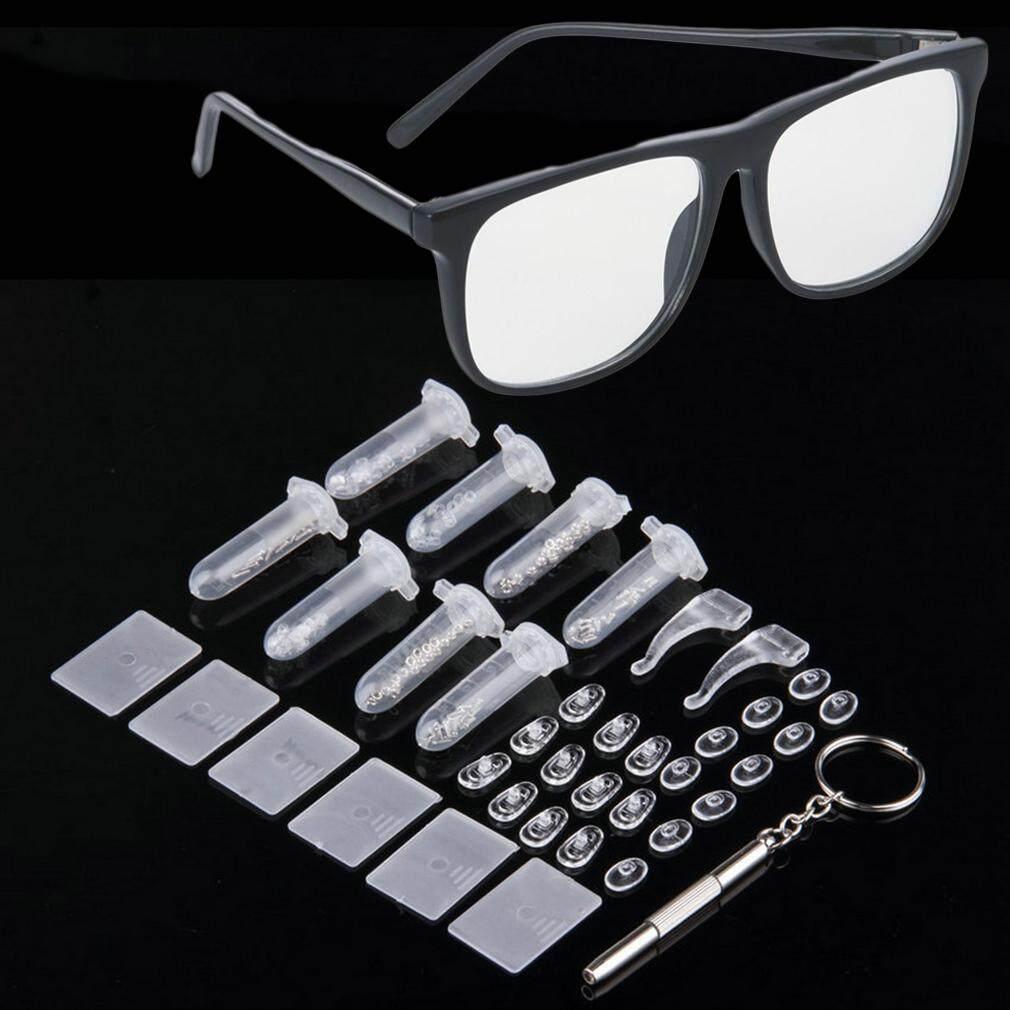 Baik Mur Bantalan Hidung Optik Alat Perbaikan Berbagai Macam Kit Set untuk Kacamata Sun Glass-Intl