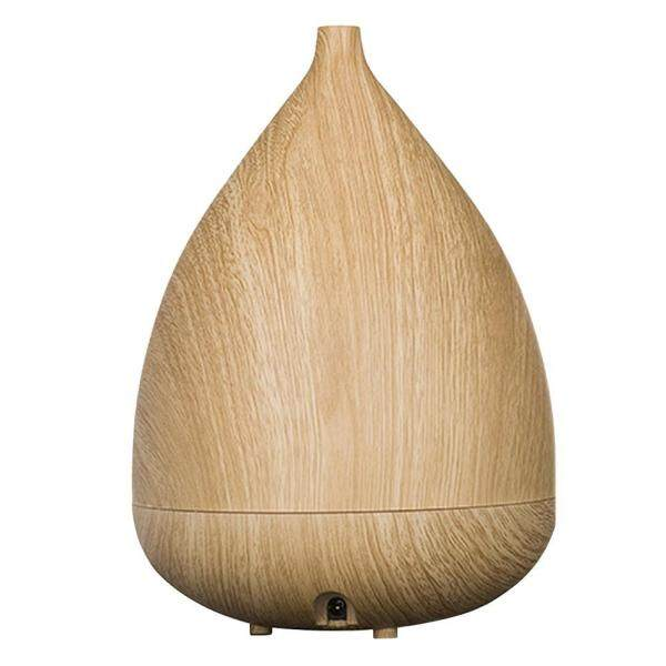HONGHUI (UK Plug)Essential Oil Diffuser, 300ml Ultrasonic Aromatherapy Mist Air Humidifier With Waterless Auto Shut Off, For Home/ Office/ Bedroom/ Living Room/ Study/ Spa/ Gym (Dark Wood Grain) - intl Singapore