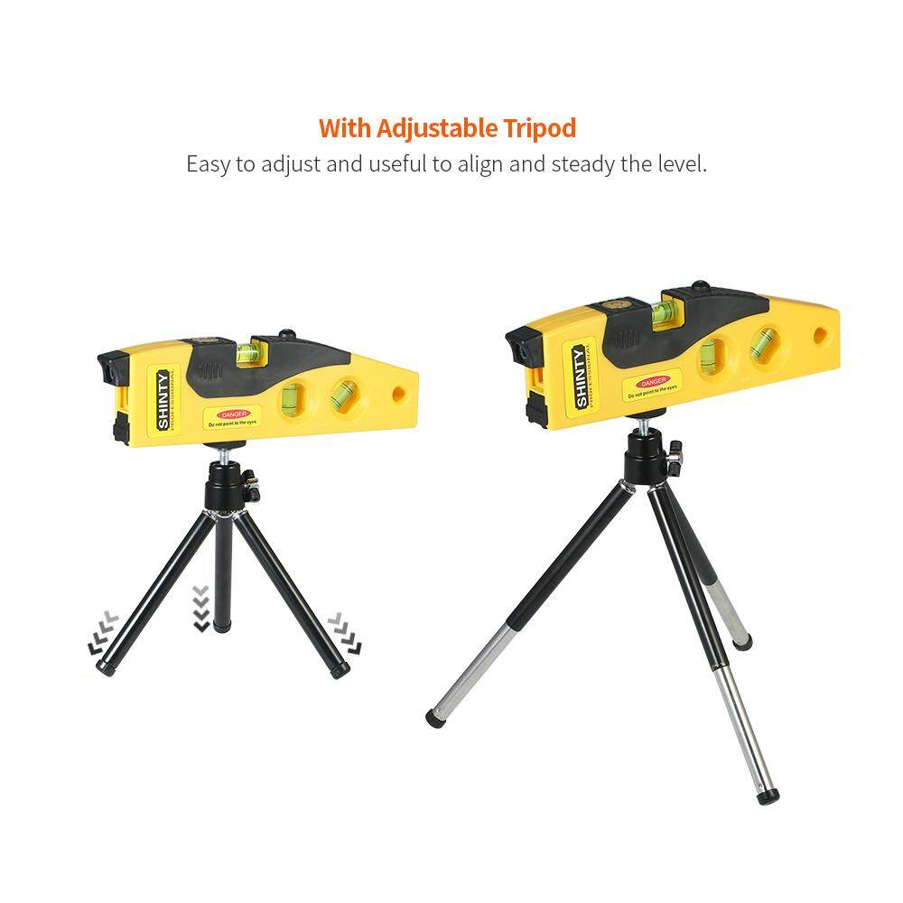 Professional Laser Measuring Tape Level With Adjustable Tripod