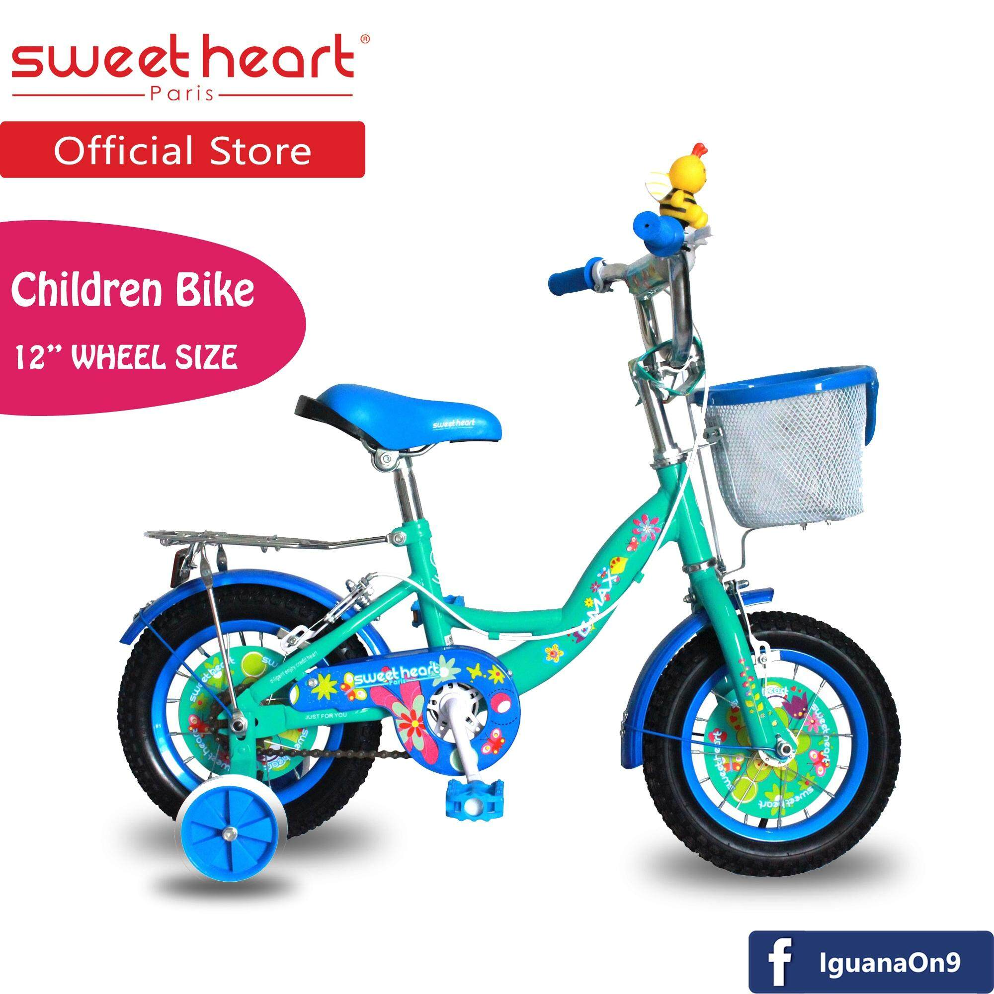 Sweet Heart Paris CB1201 G-MAX Children Bicycle (Blue)