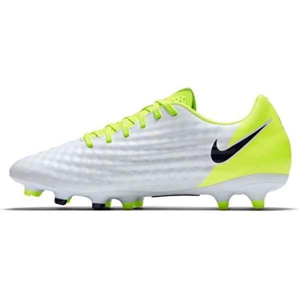 Nike Mens Magista Onda II FG Soccer Cleat White, Volt - intl