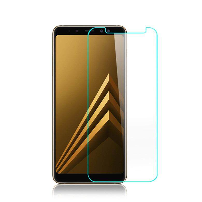 Samsung Galaxy A8 Plus 2018 Tempered Glass Screen Protector 9H Round Edges