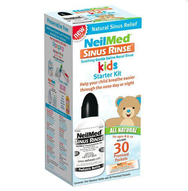 Neilmed Sinus Rinse Pediatric Starter Kid + 30 Sachets